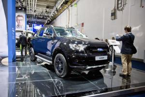 Ford Ranger at the Frankfurt Motor Show. Photo by Tim Bishop.