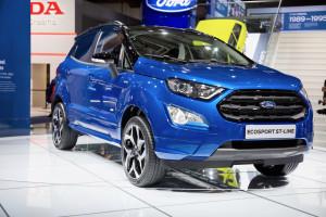 Ford Ecosport ST Line at the Frankfurt Motor Show. Photo by Tim Bishop.