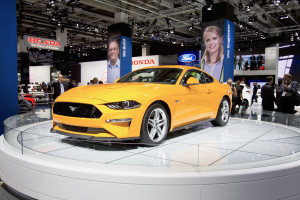 Ford Mustang at the Frankfurt Motor Show. Photo by Tim Bishop.
