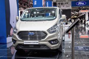 Ford Tourneo Custom at the Frankfurt Motor Show. Photo by Tim Bishop.