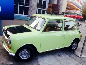 British Leyland Mini Mk4 - MR BEAN