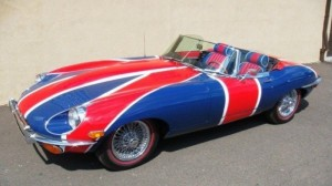JAGUAR E-TYPE - AUSTIN POWERS'