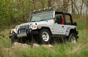 Jeep Wrangler Rubicon - Tomb Raider