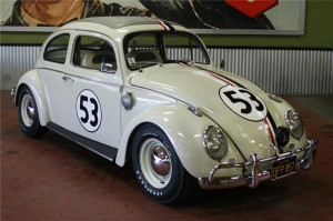 Vokswagen Beetle Sunroof Sedan - Herbie